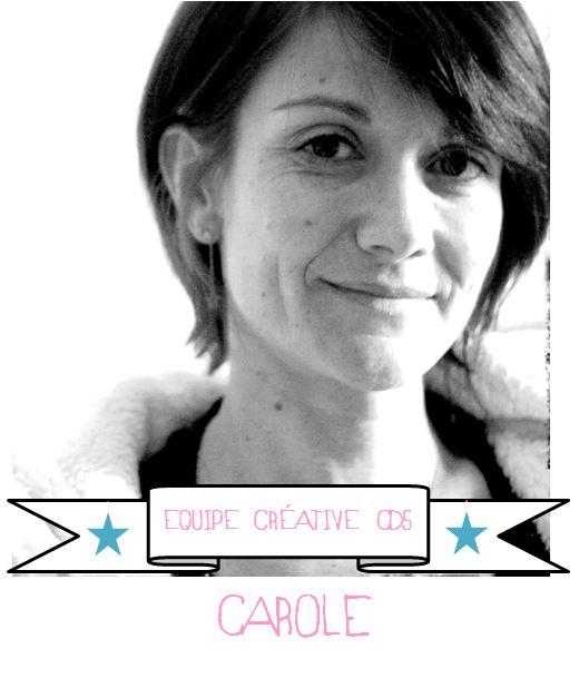 Carole pour Comptoir du scrap