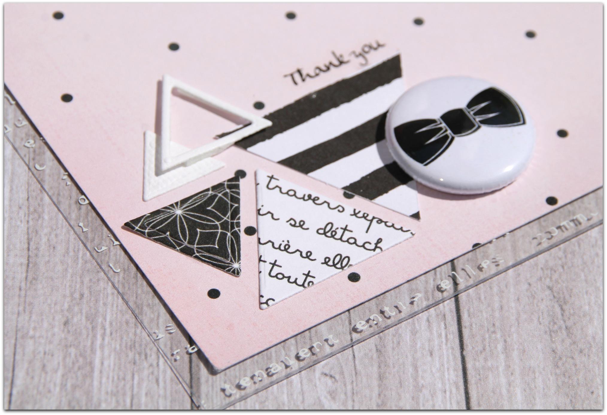 Carte réalisée par Zélie pour Comptoir du scrap